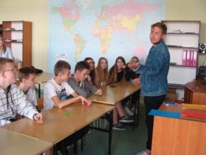 Warsztaty dla gimnazjalistów z Gimnazjum Nr 5
