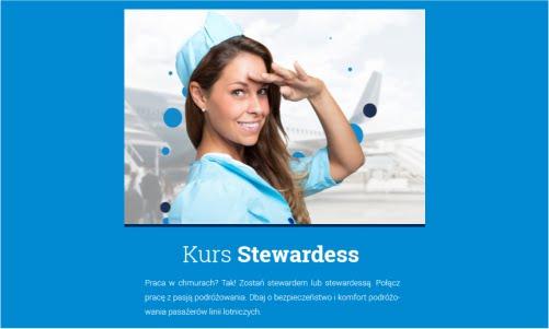 Kurs stewardess
