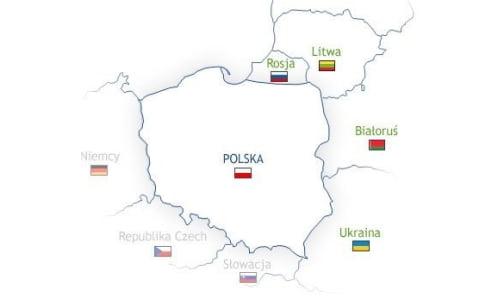 """Szkolny konkurs geograficzny klas drugich """"Sąsiedzi Polski"""""""