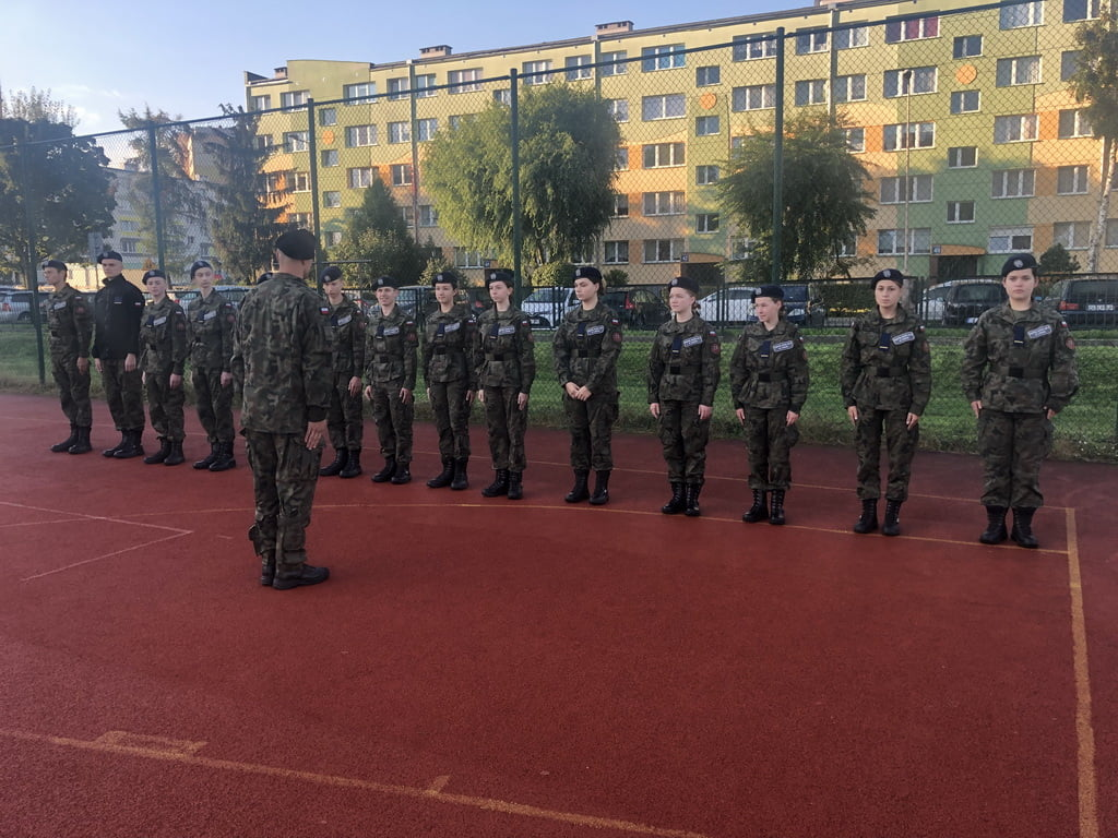 Zajęcia z żołnierzami z 10 Brygady Kawalerii Pancernej